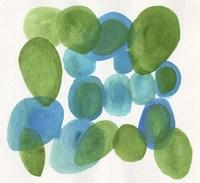 Pebbles Blue Fine-Art Print