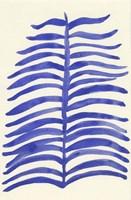 Blue Leaves Fine-Art Print