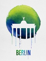 Berlin Landmark Blue Fine-Art Print