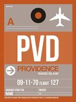PVD Providence Luggage Tag II Fine-Art Print