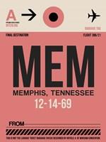 MEM Memphis Luggage Tag II Fine-Art Print