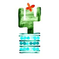 Colorful Cactus II Fine-Art Print