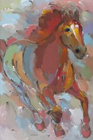 Red-Hoofed Runner Fine-Art Print