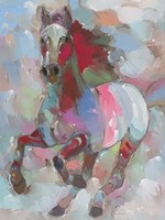 Fiery Stallion Fine-Art Print