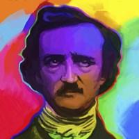 Edgar Allen Poe Pop Art Fine-Art Print