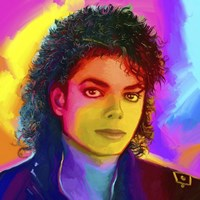 Michael Jackson Pop Art Fine-Art Print