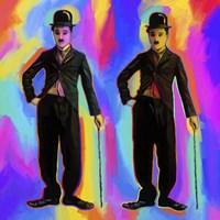 Charlie Chaplin Pop Art Fine-Art Print
