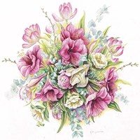 January Bouquet Fine-Art Print