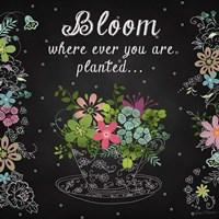 Bloom Where Planted Fine-Art Print