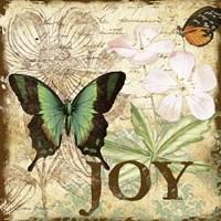 Inspirational Butterflies - Joy Fine-Art Print