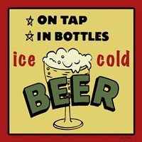 Ice Cold Beer Fine-Art Print