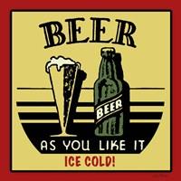 Cold Beer Fine-Art Print