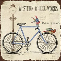 Western Wheel Works Fine-Art Print