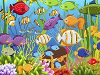 Colorful Sea Life Fine-Art Print