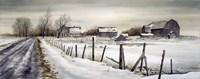 A Long Winter Road Fine-Art Print