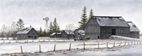 Amish Winter Fine-Art Print