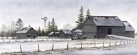 Amish Winter Fine-Art Print