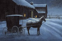 Upon a Winter Night Fine-Art Print