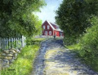 Another Red House Fine-Art Print