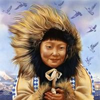 Eskimo Girls Fine-Art Print