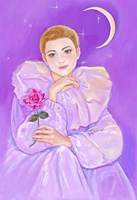 Pierrot's Rose Fine-Art Print