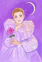 Pierrot's Rose Fine-Art Print