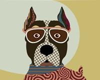 American Staffordshire Terrier Fine-Art Print