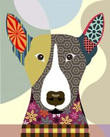 Bull Terrier Dog Fine-Art Print