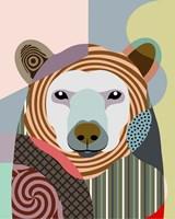 Hunting Polar Bear Fine-Art Print