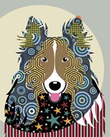 Rough Collie Fine-Art Print