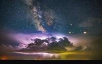Milky Way Monsoon Print Fine-Art Print