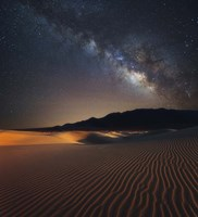 Milky Way over Mesquite Dunes Fine-Art Print