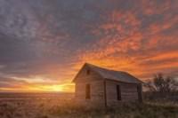 Sunset on the Prairie Fine-Art Print