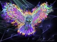 Electric Owl 2 Fine-Art Print