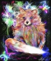 Galaxy Baby Fox Fine-Art Print
