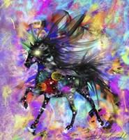 Galaxy Horse Fine-Art Print