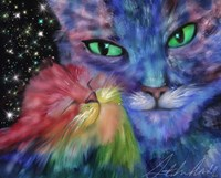 Star Cats Fine-Art Print