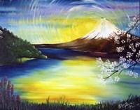 Japanese Mountain Fine-Art Print