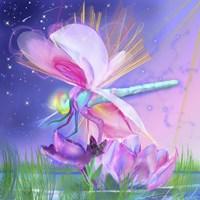 Dragonfly Lotus Fine-Art Print