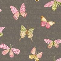Wild Roses Butterflies Fine-Art Print