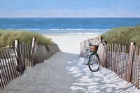 Beach Bike 2 Fine-Art Print