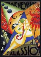 Cavneval di Alassio Fine-Art Print