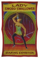 Lady Sword Swallower Fine-Art Print