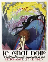 Le Chat Noir by Henri Desbarbieux, 1922 Fine-Art Print