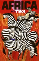 Africa Fly TWA Fine-Art Print