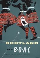 Scotland Fly BOAC Fine-Art Print