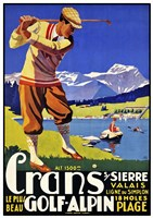 Crans Golf Alpin Fine-Art Print