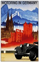 Motoring in Germany Fine-Art Print