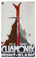 Chamonix Mont Blanc Fine-Art Print