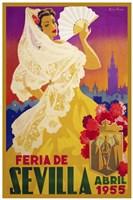 Feria De Sevilla 1955 Fine-Art Print